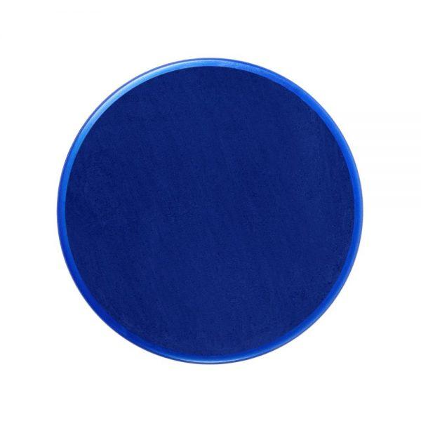 Pastilla maquillaje color azul clásico