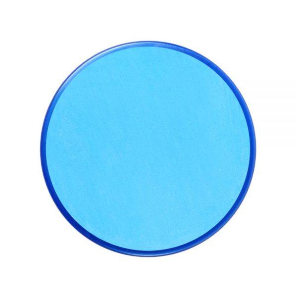 Pastilla maquillaje color azul turquesa