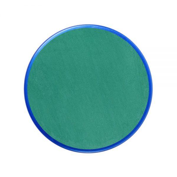 Pastilla maquillaje color verde turquesa