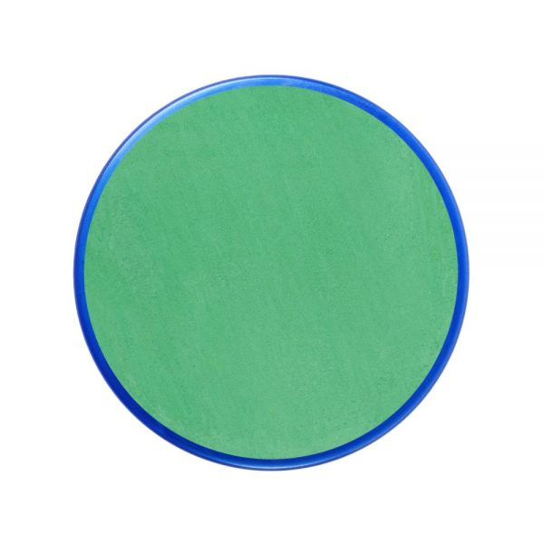 Pastilla maquillaje color verde brillante
