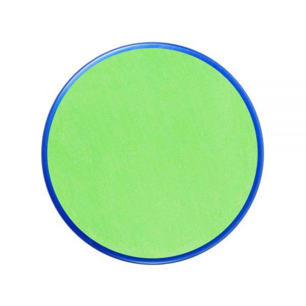 Pastilla maquillaje color verde lima