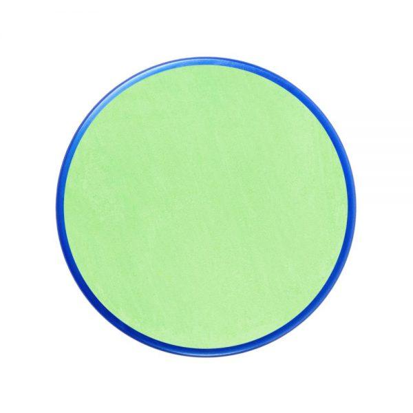 Pastilla maquillaje color verde pálido
