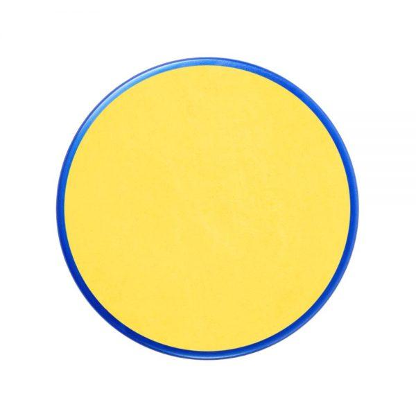 Pastilla maquillaje color amarillo brillante