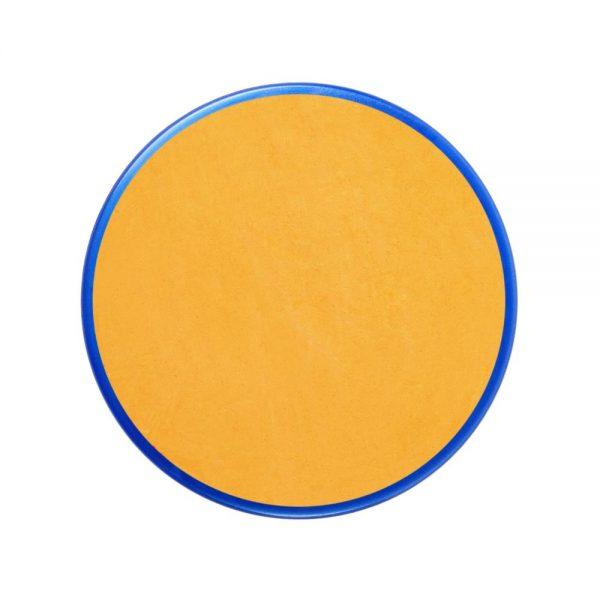 Pastilla maquillaje color amarillo ocre