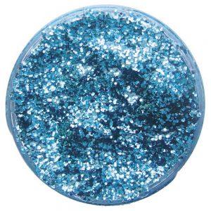 Pastilla maquillaje gel color azul cielo