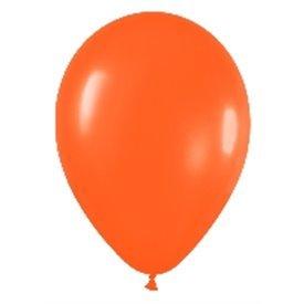 Globo latex naranja