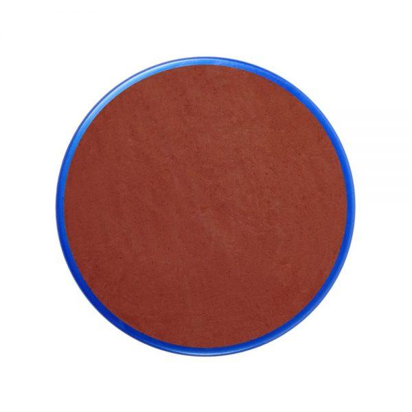 Pastilla maquillaje color marrón óxido