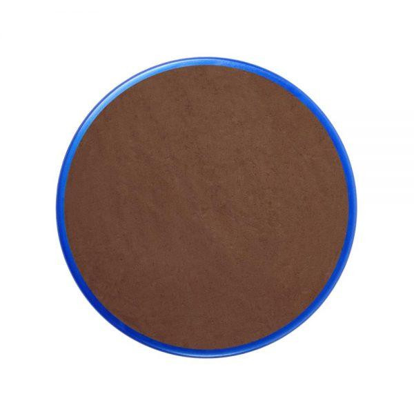 Pastilla maquillaje color marrón claro