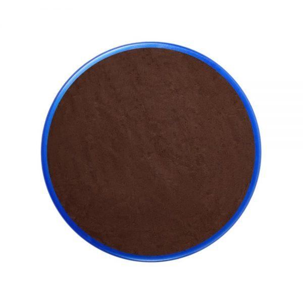 Pastilla maquillaje color marrón oscuro