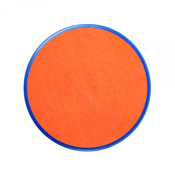 Pastilla maquillaje color naranja