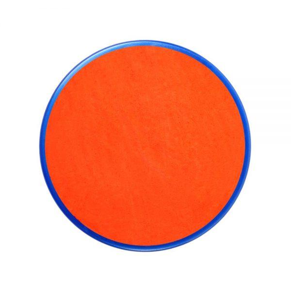 Pastilla maquillaje color naranja oscuro
