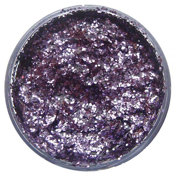 Pastilla maquillaje gel color púrpura