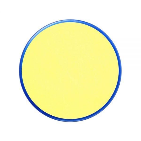 Pastilla maquillaje color amarillo pálido