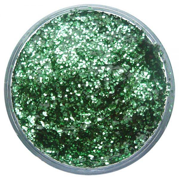 Pastilla maquillaje gel color verde brillante